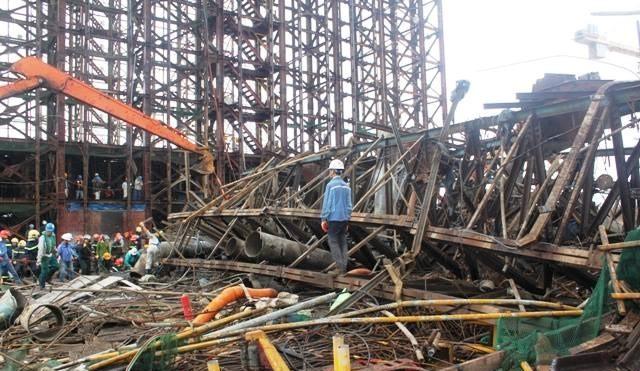 Sập giàn giáo tại Formosa: Nhà thầu lên tiếng