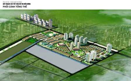 Khu đô thị mới Kiến Hưng (1)
