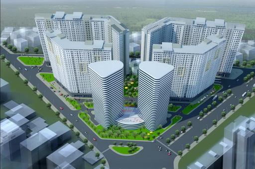Khu nhà ở hỗn hợp HH02 - Residential Complex Nam Cường (1)