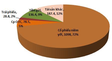Soi danh mục đầu tư của VFMVF1: Cổ phiếu niêm yết chiếm 72% tài sản (1)