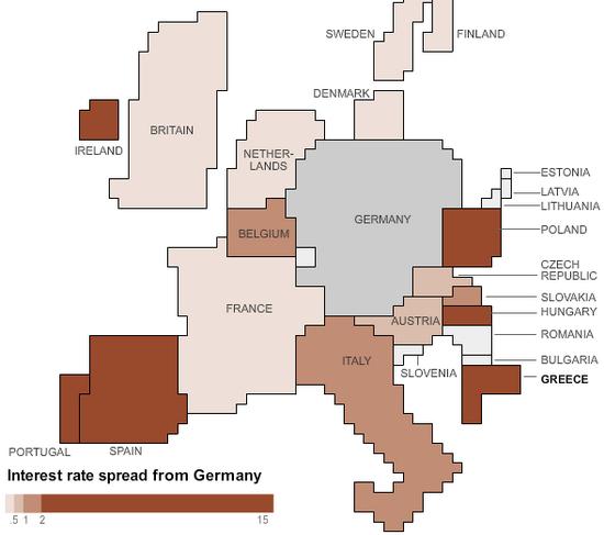 Thực trạng nợ công châu Âu qua những con số (7)