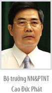 Tóm tắt tiểu sử các Phó Thủ tướng, Bộ trưởng và các thành viên khác của Chính phủ (13)