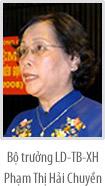 Tóm tắt tiểu sử các Phó Thủ tướng, Bộ trưởng và các thành viên khác của Chính phủ (18)