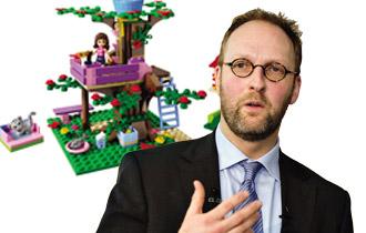 Ông Jørgen Vig Knudstorp, Tổng Giám đốc công ty sản xuất đồ chơi Lego.
