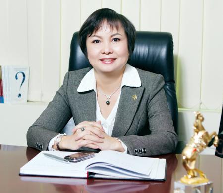 Tổng giám đốc PNJ Cao Thị Ngọc Dung. Ảnh: NVCC