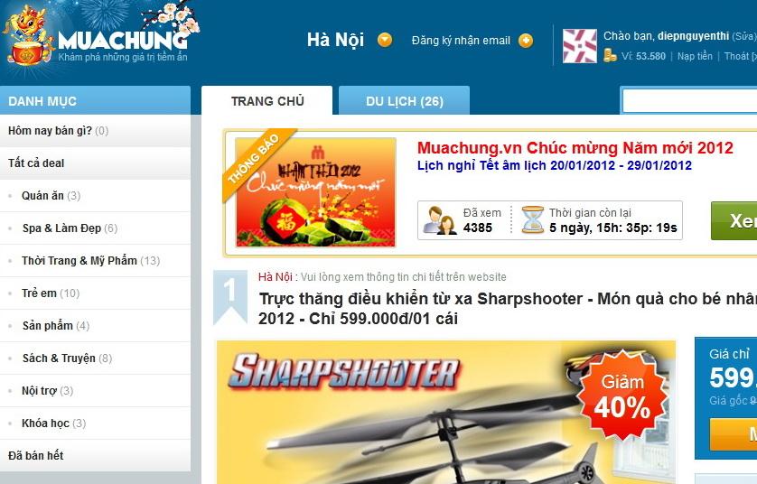 Mua sam truc tuyen Hinh thuc ban hang tien loi danh rieng cho phu nu ban biu