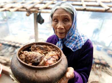 Làng Vũ Đại đắt khách món cá kho Chí Phèo