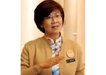 Bà Tan Poh Lan - CEO Bệnh viện đa khoa quốc tế VINMEC
