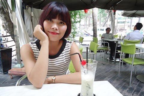 Doãn Thu Hằng, người tổ chức chợ trời Sài Gòn (Sai Gon Flea Market). Ảnh: Hương Giang