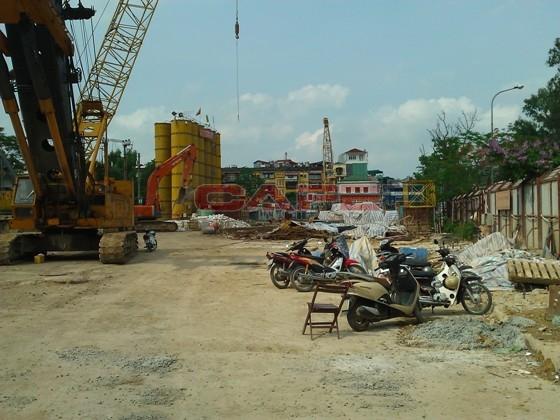 Chùm ảnh tiến độ một số dự án tại trung tâm Hà Nội (9)
