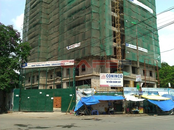Chùm ảnh tiến độ một số dự án tại trung tâm Hà Nội (5)
