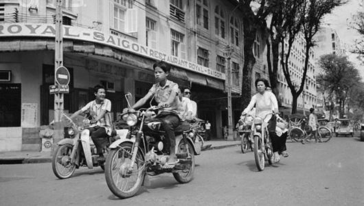 Xe Honda 67 từng rất phổ biến tại Sài Gòn
