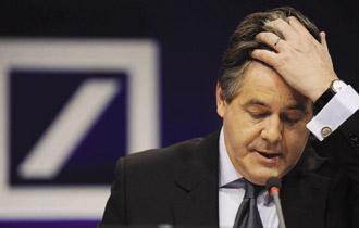 Những tháng cuối cùng của Josef Ackermann với vị trí Tổng Giám đốc Deutsche Bank thật đáng buồn.