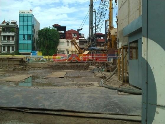 Chùm ảnh tiến độ dự án dọc trục Láng Hạ - Lê Văn Lương (5)