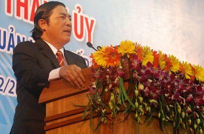 Bí thư Thành Ủy Đà Nẵng Nguyễn Bá Thanh