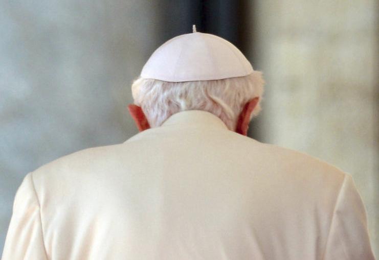 Hình ảnh buổi thuyết giảng cuối cùng của Giáo hoàng Benedict XVI (11)