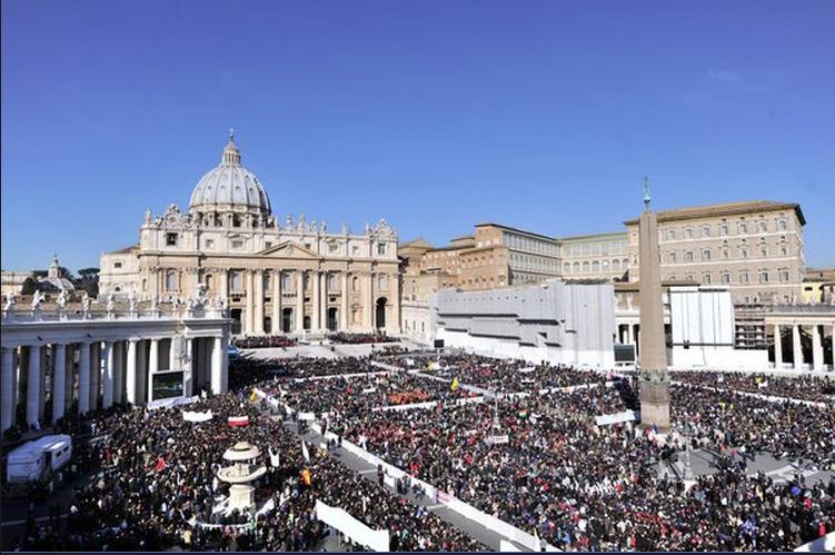 Hình ảnh buổi thuyết giảng cuối cùng của Giáo hoàng Benedict XVI (3)