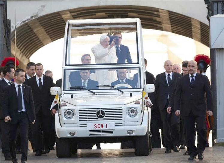 Hình ảnh buổi thuyết giảng cuối cùng của Giáo hoàng Benedict XVI (6)