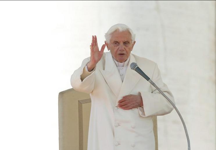 Hình ảnh buổi thuyết giảng cuối cùng của Giáo hoàng Benedict XVI (8)