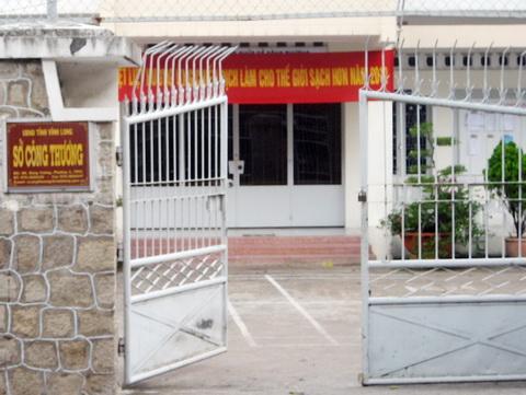 Sở Công thương Vĩnh Long lúc 16h15 ngày 14/9. Ảnh: Trà Giang.