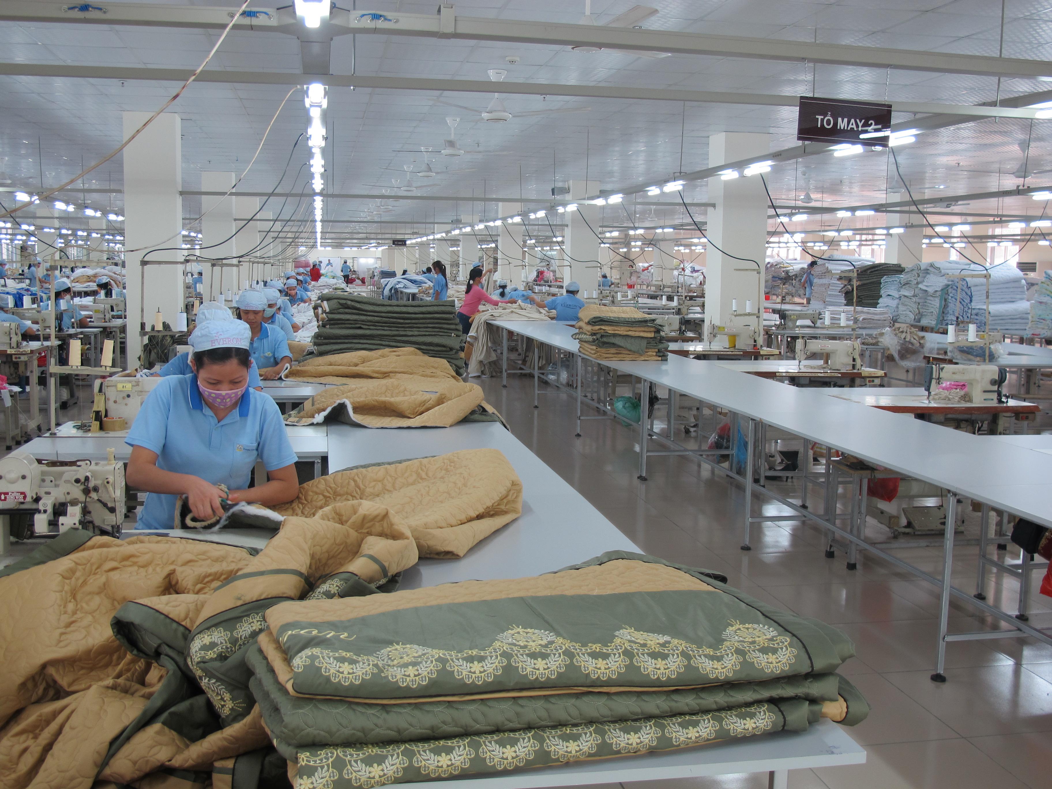 Everpia Việt Nam khánh thành Nhà máy chăn ga gối đệm lớn nhất Việt Nam (4)