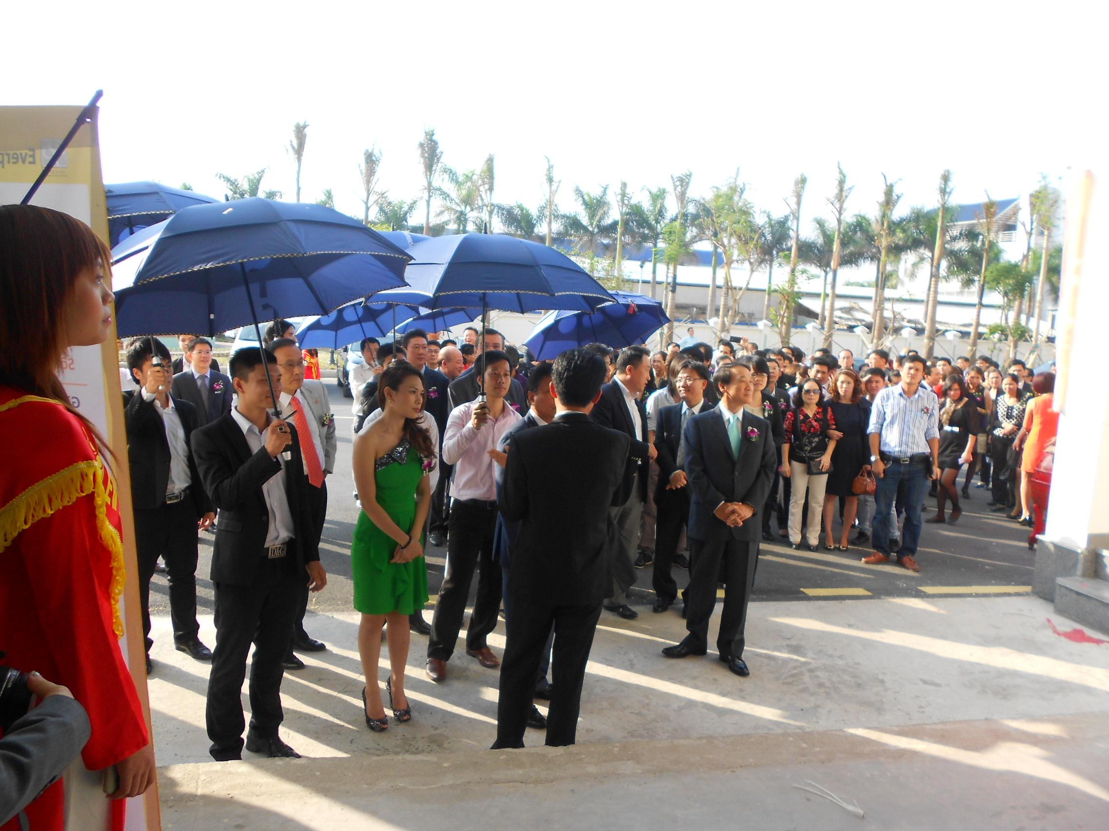 Everpia Việt Nam khánh thành Nhà máy chăn ga gối đệm lớn nhất Việt Nam (2)