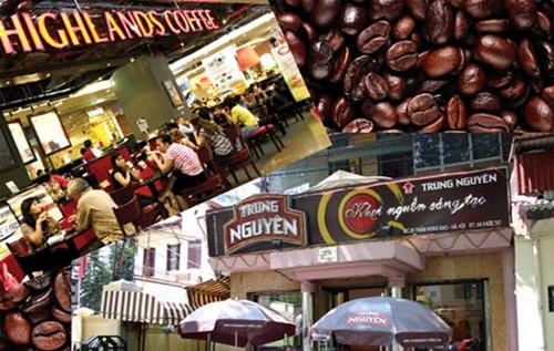 Trung Nguyên và Highlands Coffee: 2 nước cờ