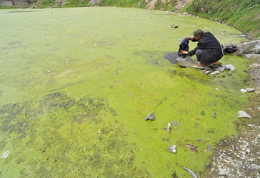 Hình ảnh đáng sợ về những nguồn nước 'chết' ở Trung Quốc (21)