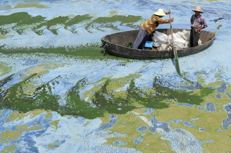 Hình ảnh đáng sợ về những nguồn nước 'chết' ở Trung Quốc (4)