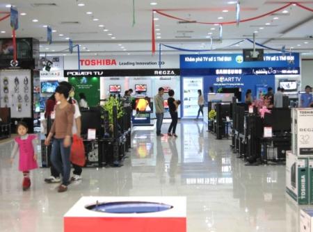 Những tập đoàn điện tử hàng đầu thế giới đã có mặt tại Việt Nam