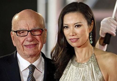 Rupert Murdoch và cô vợ gốc Trung Quốc trẻ hơn 38 tuổi Wendi Đặng vừa đệ đơn ly hôn.