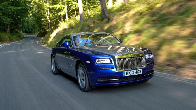 Rolls-Royce Wraith 2014 trên đường chạy thử vào tháng 9 test tại Vienna, Áo - Ảnh: gtspirit