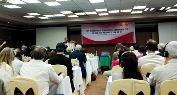Bộ trưởng Bộ Khoa học và Công nghệ Nguyễn Quân phát biểu tại Hội nghị. Ảnh: Diễn đàn doanh nghiệp