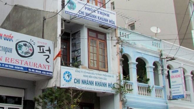 Bốn công ty nghìn tỷ chung một căn nhà ở 68 Phan Đình Phùng, Nha Trang
