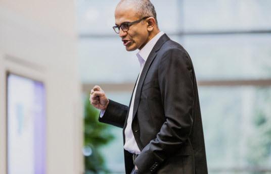 Satya Nadella, tân CEO Microsoft.