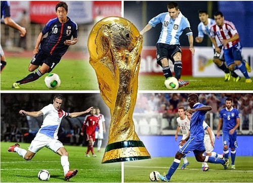 Người hâm mộ Việt Nam sẽ được xem đầy đủ 64 trận đấu của World Cup 2014.