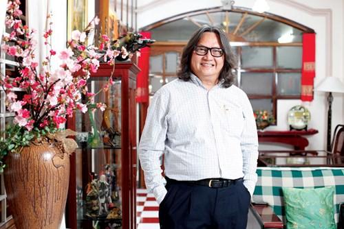 Ông Nguyễn Hữu Chung, Chủ tịch HĐQT Công ty CP Thực phẩm Nippon Ham Việt Nam (Nippon Ham Việt Nam) - Ảnh: Quý Hòa