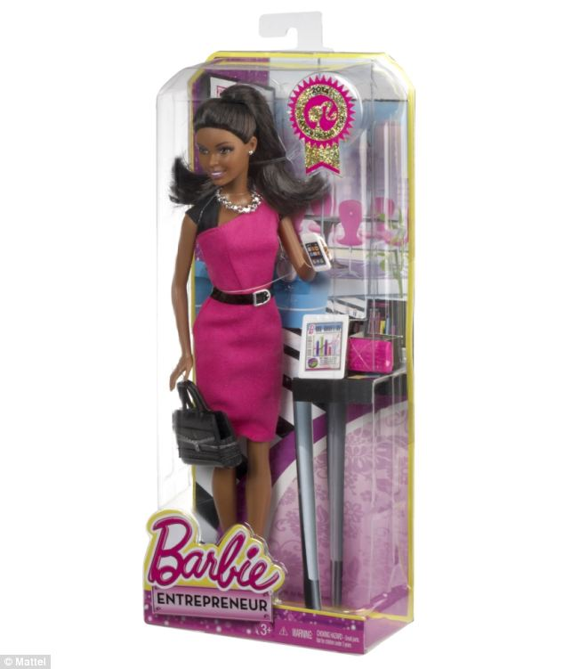 Hang Mattel ra m?t phien b?n bup be Barbie doanh nhan Barbie Club