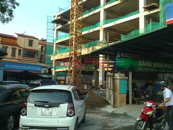 Chùm ảnh tiến độ thi công một số dự án khu vực Cầu Giấy (9)