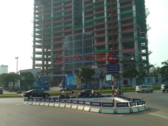 Chùm ảnh tiến độ thi công một số dự án khu vực Cầu Giấy (5)