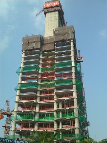 Chùm ảnh tiến độ thi công một số dự án khu vực Cầu Giấy (4)