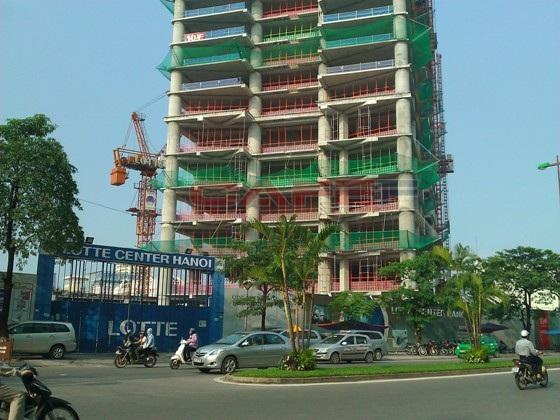 Chùm ảnh tiến độ thi công một số dự án khu vực Cầu Giấy (3)