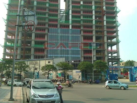 Chùm ảnh tiến độ thi công một số dự án khu vực Cầu Giấy (2)