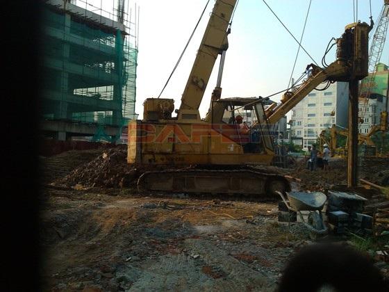 Chùm ảnh tiến độ thi công một số dự án khu vực Cầu Giấy (11)