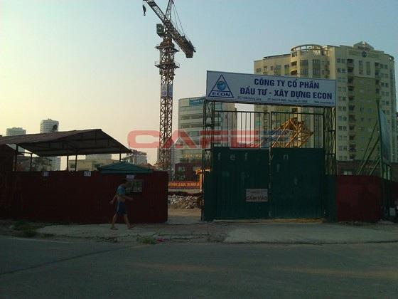 Chùm ảnh tiến độ thi công một số dự án khu vực Cầu Giấy (20)