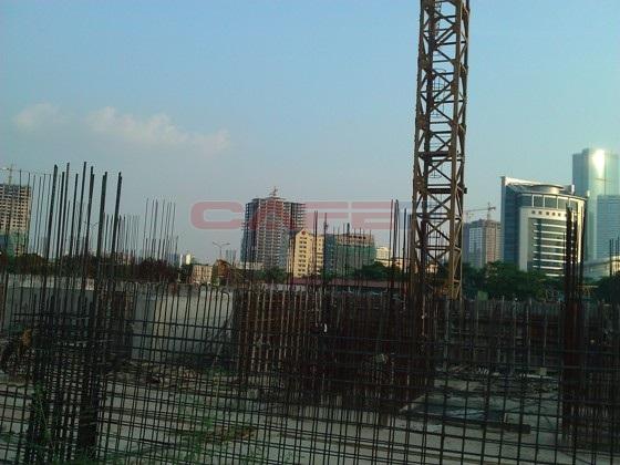 Chùm ảnh tiến độ thi công một số dự án khu vực Cầu Giấy (19)