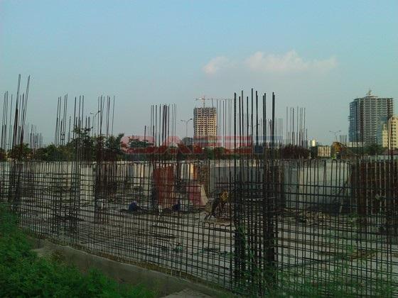 Chùm ảnh tiến độ thi công một số dự án khu vực Cầu Giấy (18)