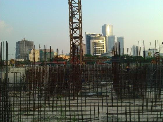 Chùm ảnh tiến độ thi công một số dự án khu vực Cầu Giấy (17)