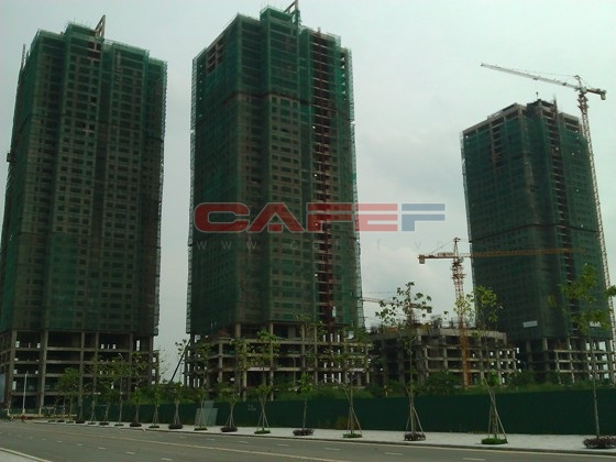 Tiến độ hàng loạt dự án phía Tây Hà Nội (1)