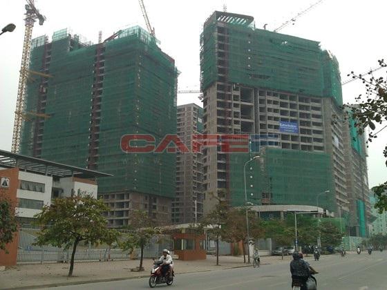 Tiến độ hàng loạt dự án dọc trục Lê Văn Lương (22)